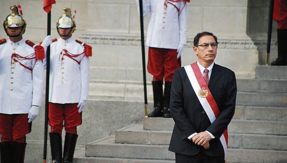 Reto. Martín Vizcarra dijo que en seis meses, antes de diciembre, se verán los resultados de su gestión. (Luis Centurión/Perú21)