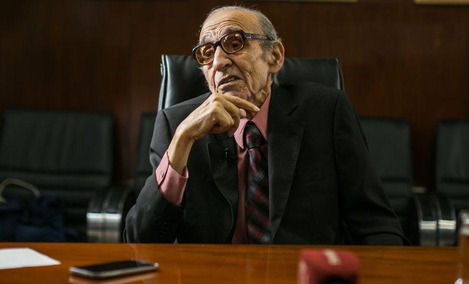 Marco Aurelio Denegri falleció el último viernes a consecuencia de una fibrosis pulmonar. (El Comercio)