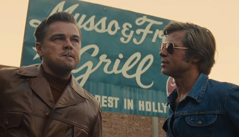 "Brad Pitt y Leonardo DiCaprio protagonizan ""Once Upon a Time in Hollywood"", la novena película de Quentin Tarantino. (Foto: Captura de video)"