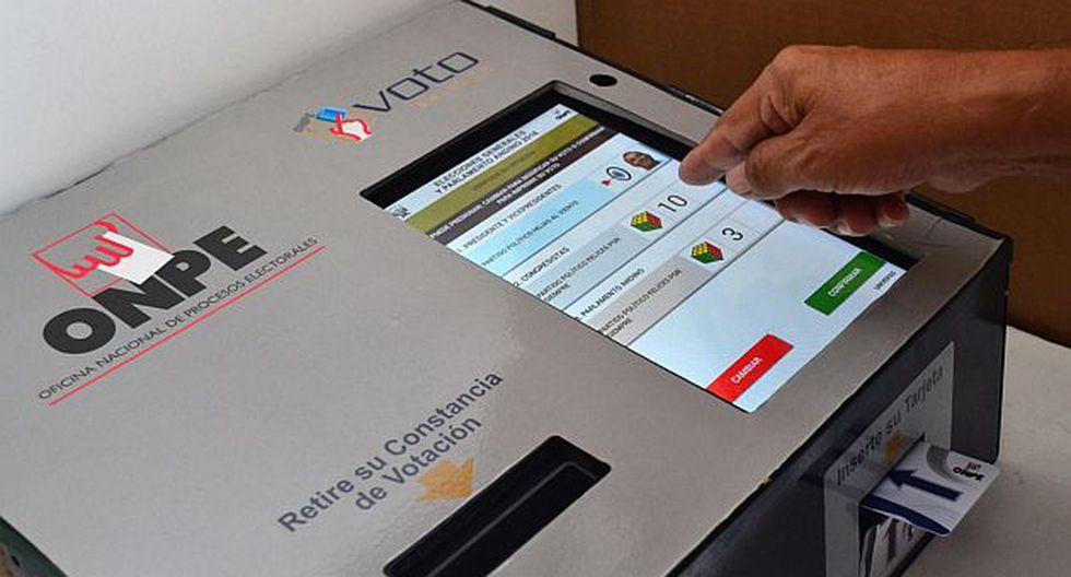 ONPE: Conozca en qué distritos de Lima funcionará el voto electrónico para las próximas elecciones