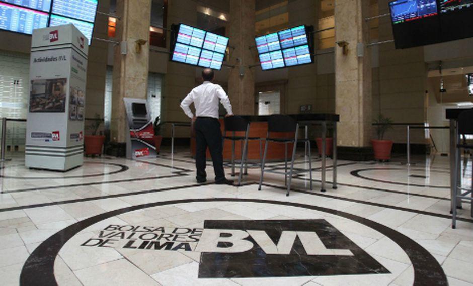 La Bolsa de Valores de Lima anota pérdidas en la jornada del miércoles. (Foto: GEC)