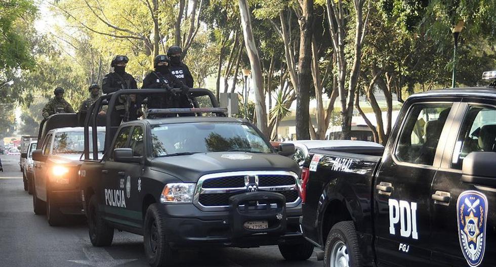 Imagen de la policía de México. (EFE/Mario Guzmán).
