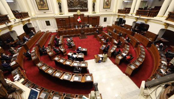 Mayoría del Congreso votó en contra de otorgarle la confianza al Gabinete Cateriano. ( Foto: Facebook Congreso de la República)