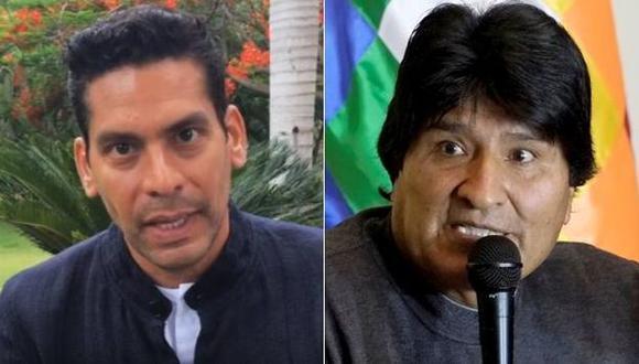 Evo Morales: Periodista de CNN, Fernando del Rincón, e Ismael Cala responden a sus ataques. (Reuters/Comp)
