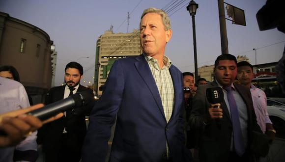 "Alfredo Thorne contó que ""teme"" por la vida del expresidente Pedro Pablo Kuczysnki. (Foto: GEC)"