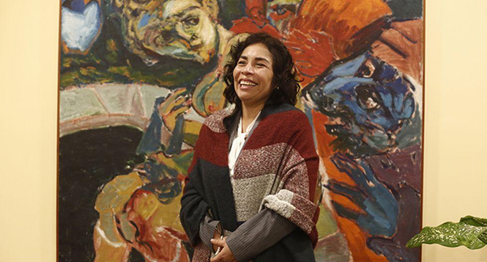 Patricia Balbuena cumple cuatro meses como ministra de Cultura. (Foto de César Campos)