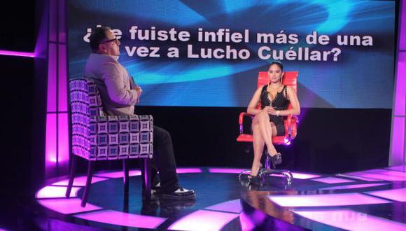 Katty García contó que le fue infiel a cantante de cumbia. (Difusión)