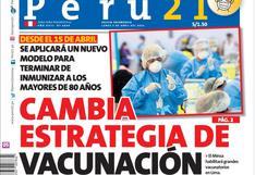 Cambia estrategia de vacunación