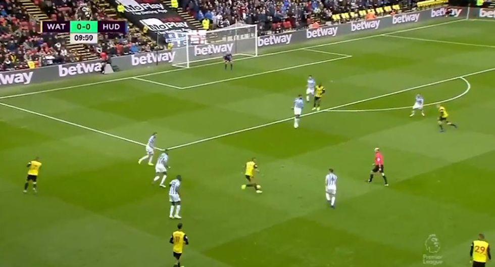 Watford y el golazo que se mandó Roberto Pereyra en la Premier League. (Video: DirecTV Sports)