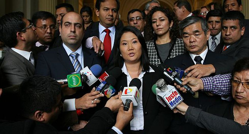 La gran ausente. Keiko Fujimori no asistirá a reunión con el Ejecutivo. (USI)