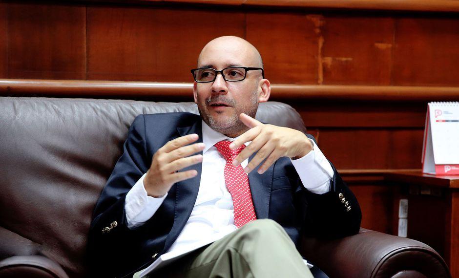 Ministro de Trabajo y Promoción del Empleo, Christian Sánchez. (Foto: Andina)