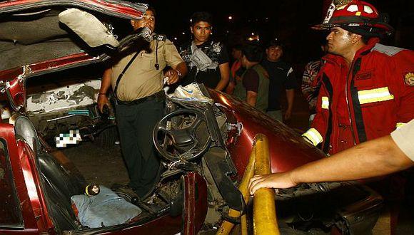 Arequipa: Auto cae a abismo y mueren dos personas. (USI/Referencial)