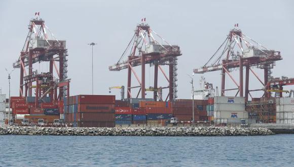 El déficit de la balanza comercial peruana es un riesgo, advierte el BBVA Research. (César Fajardo)