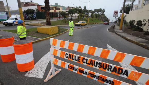 OBRA EN CAMINO. Comuna limeña advierte a conductores tener en cuenta el plan de desvío (Perú21GEC)