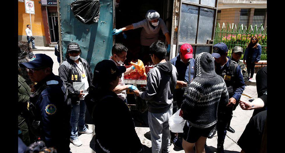 """Resultado de imagen para Escasez de alimentos y gasolina por protestas en Bolivia"""""""
