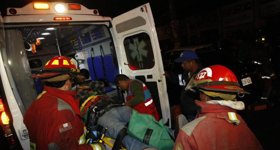Saldaña Gurgura fue herido en el brazo izquierdo. (USI)