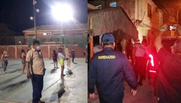 PNP intervino dos inmuebles. (Foto: Municipalidad de Talara)