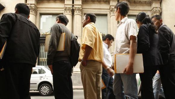 Desempleo en América Latina y el Caribe sería de 8%, según FMI. (Perú21)