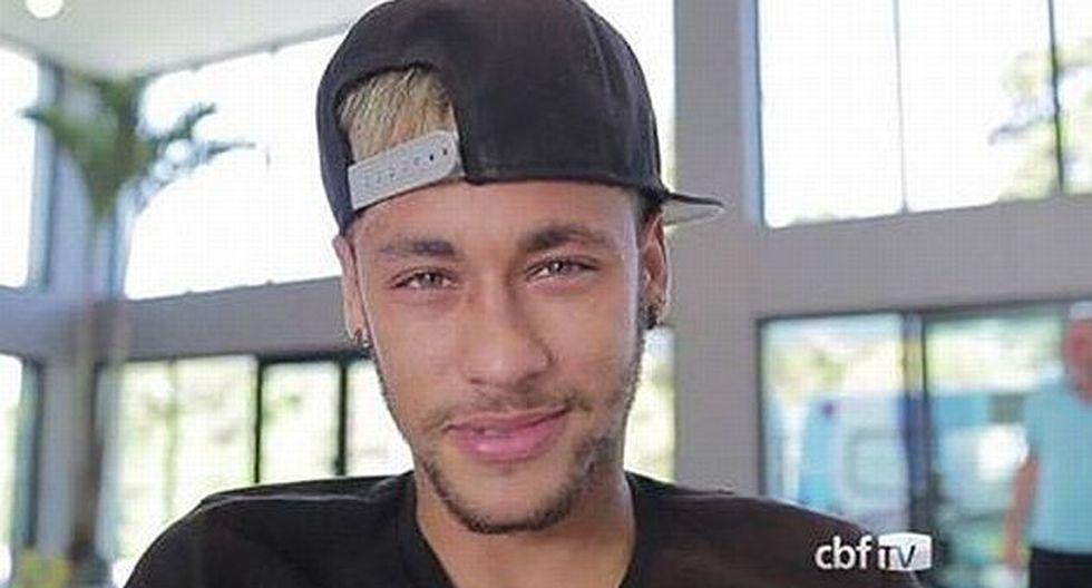 Neymar confía en que Brasil será Campeón del Mundo. (Difusión)
