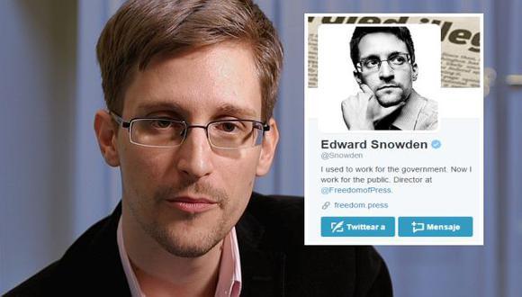 Edward Snowden abre cuenta en Twitter y pregunta: ¿Pueden oírme ahora? (AFP/Twitter)