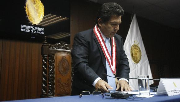 Fiscal de la Nación ahora deberá responder por los temas abordados en su encuentro con Rodolfo Orellana. (Martín Pauca)