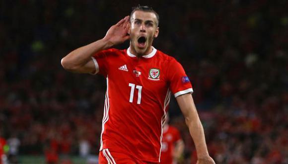Bale anotó el 2-0 sobre Irlanda en la Liga de Naciones. (Foto: AFP)