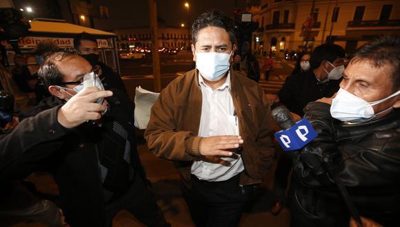 Vladimir Cerron fue sentenciado por corrupción en 2019. (Foto: Jorge Cerdan/@photo.gec)