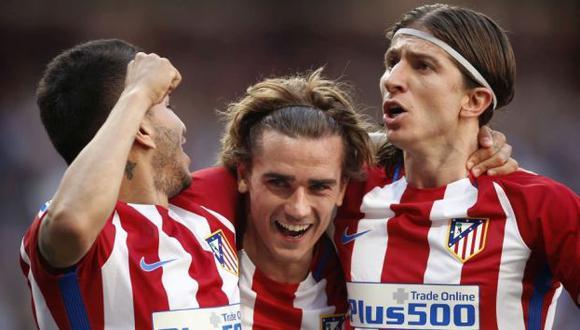 Atlético de Madrid y Leicester se miden en el Vicente Calderón por los cuartos de final de la Champions League. (AP)