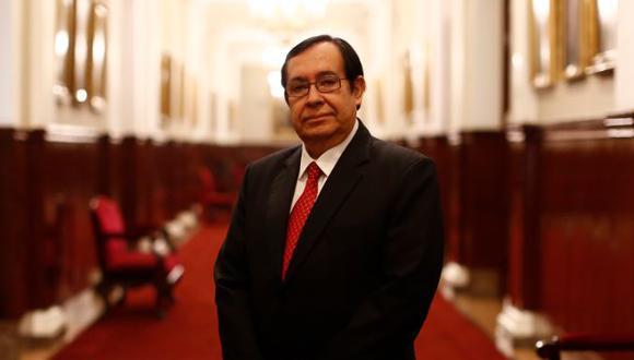 Víctor Prado evalúa retirarse de la Comisión de Alto Nivel Anticorrupción.(Mario Zapata/Perú21)