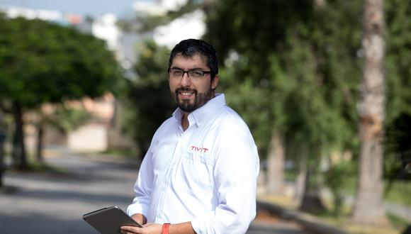 Pablo Prieto, gerente general de empresa TIVIT. (Foto: Ángela Ponce)
