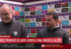Bielsa dejó particular conclusión tras derrotar al Manchester City de Guardiola | VIDEO