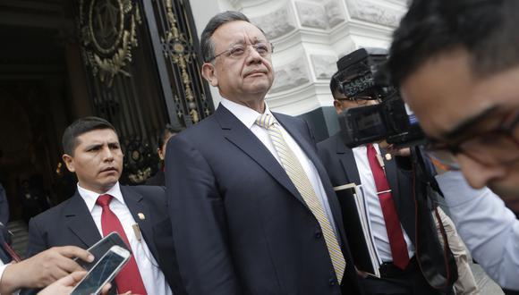 La fiscalía denunció a Edgar Alarcón por un supuesto desbalance patrimonial. (Foto: GEC)