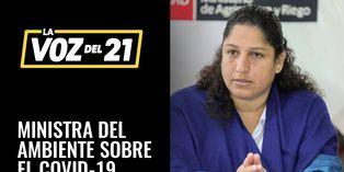 Ministra Fabiola Muñoz sobre el octavo día de estado de emergencia