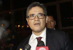 Fiscal Domingo Pérez niega intención política en detención preliminar de Pedro Pablo Kuczynski