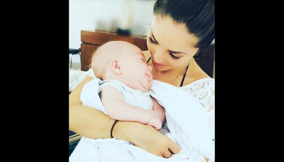 La cantante mexicana Anahí se volvió madre a inicios de año. (Instagram)