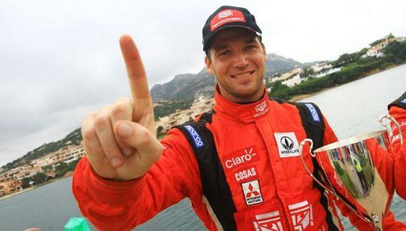 campeón. Fuchs suma 145 puntos en el Mundial WRC 2. (Web Nicolás Fuchs)
