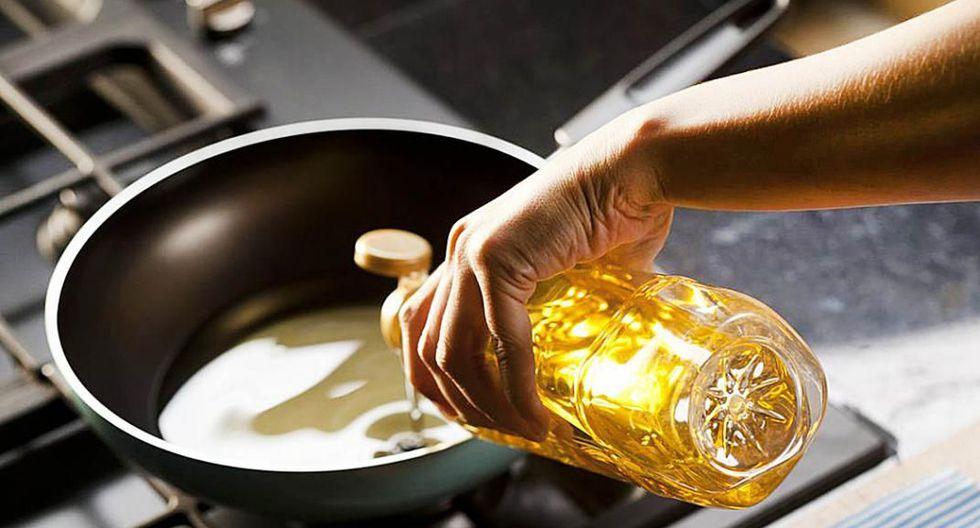 El  aceite es uno de los ingredientes más usados en la cocina y muchas personas no saben cómo desechar el aceite usado. (Foto: Difusión)