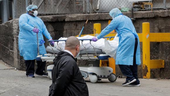 Nueva York es la ciudad más golpeada de Estados Unidos por el coronavirus. (REUTERS/Brendan McDermid)