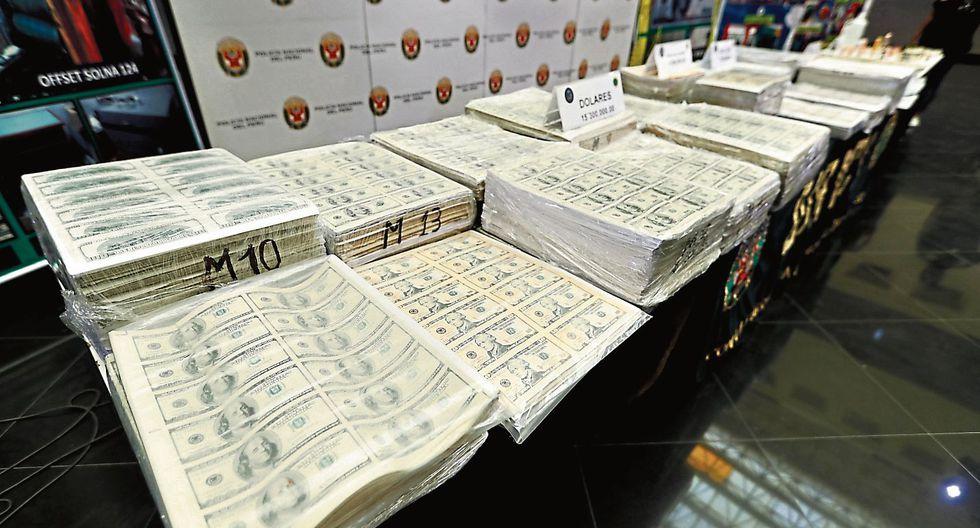 La fábrica de papel. Mafia falsificaba miles de dólares por minuto en Carabayllo. (USI)