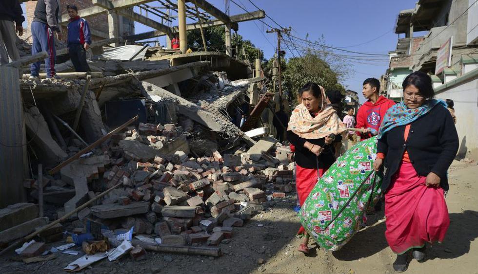 Terremoto en India y Bangladesh ocurrió cerca a las 4:35 (hora local). (EFE)