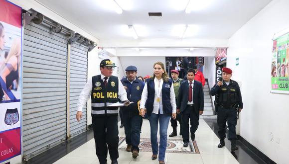 Fiscal Marita Barreto acusa a la cúpula de Rodolfo Orellana del delito de lavado de activos. (Ministerio Público)