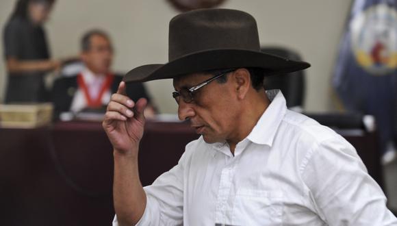 Actualmente el mayor EP Antauro Humala cumple una condena de 19 años en el penal Ancón I. (AFP PHOTO/ERNESTO BENAVIDES)