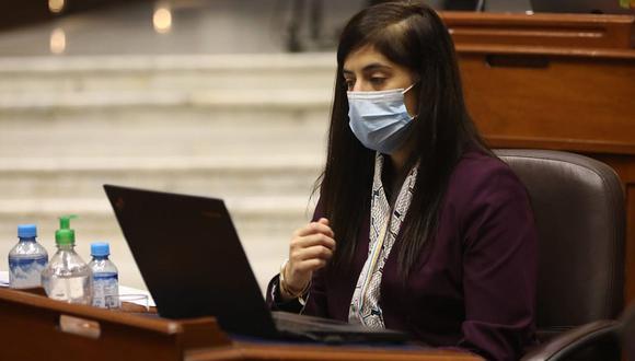 María Antonieta Alva asistirá este lunes nuevamente al Congreso para la segunda etapa de la interpelación en su contra. (Foto: Congreso)