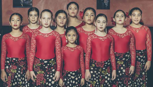 Bailaoras de entre 8 y 12 años participarán en el espectáculo de danza y música (Difusión).