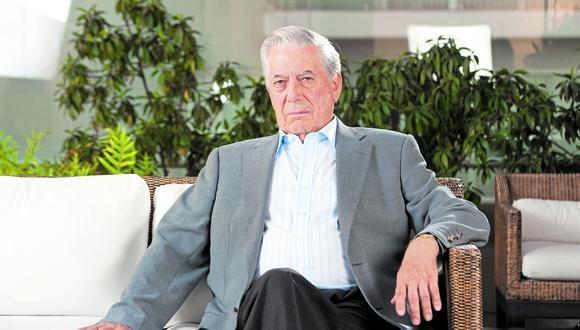 """""""Es fundamental que los peruanos defiendan la libertad, cualesquiera sean sus ideas políticas, porque sin ella solo ha empobrecimiento"""", afirma Vargas Llosa. (GEC)"""
