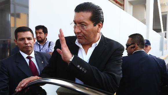 Piden presencia de ministro Paredes en el Congreso. (Rafael Cornejo)