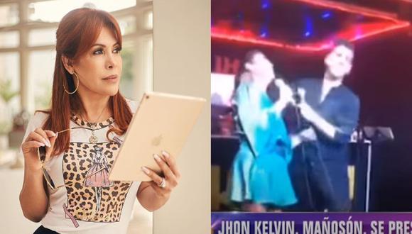 Magaly Medina criticó show de John Kelvin en Japón. (Instagram/Magaly Tv. La firme)