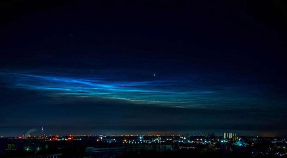 NASA: Globo de investigación capta hermoso fenómeno atmosférico. (YouTube/NASA)