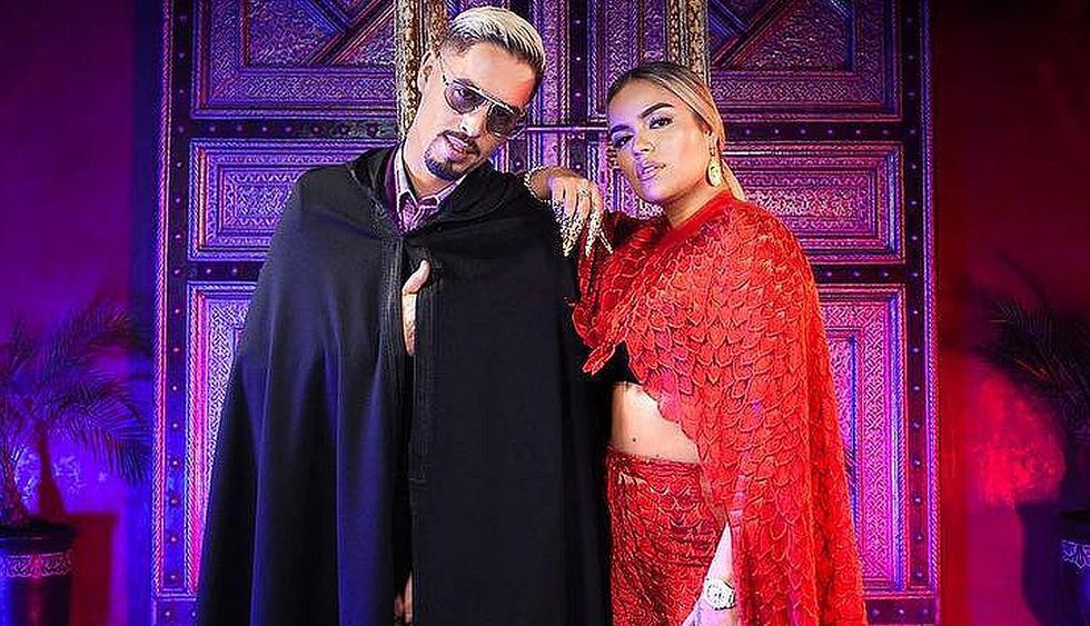 La cantante Karol G compartió su nueva colaboración junto al rapero francés Lartiste. (Foto: Captura de YouTube)