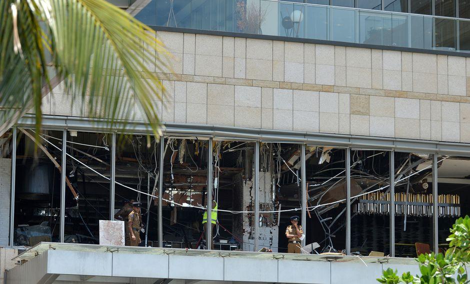 Sri Lanka sufrió un atentado esta mañana. (Foto: AFP)